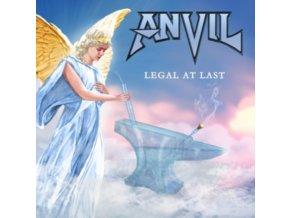 ANVIL - Legal At Last (UK Exclusive Gold Vinyl) (LP)