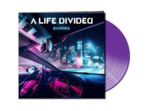 A LIFE DIVIDED - Echoes (Clear Purple Vinyl) (LP)