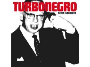 TURBONEGRO - Never Is Forever (White/Red Splatter Vinyl) (LP)