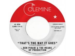 "BEN PIRANI - Thats The Way It Goes (7"" Vinyl)"