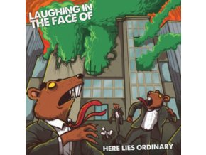 LAUGHING IN THE FACE OF - Here Lies Ordinary (LP)