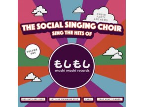 "SOCIAL SINGING CHOIR - Sings The Hits Of Moshi Moshi Records (12"" Vinyl)"