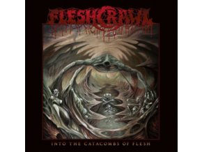 FLESHCRAWL - Into The Catacombs Of Flesh (LP)