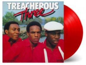TREACHEROUS THREE - Whip It (Red Vinyl) (LP)