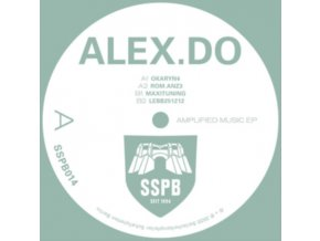 "ALEX.DO - Amplified Music EP (Limited Edition) (12"" Vinyl)"