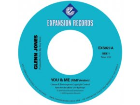 "GLENN JONES - You & Me (7"" Vinyl)"
