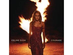 CELINE DION - Courage (Limited Red Vinyl) (LP)