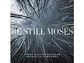 STEEP CANYON RANGERS & ASHEVILLE SYMPHONY - Be Still Moses (First Edition) (Transparent Blue Vinyl) (LP)