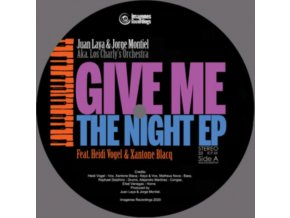 "JUAN LAYA / JORGE MONTIEL & LOS CHARLYS ORCHESTRA - Give Me The Night EP (7"" Vinyl)"