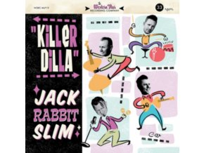 "JACK RABBIT SLIM - Killer Dilla (Coloured Vinyl) (10"" Vinyl)"