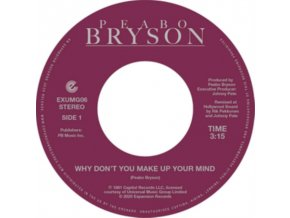 """BEABO BRYSON - Why Dont You Make Up Your Mind / Paradise (7"""" Vinyl)"""