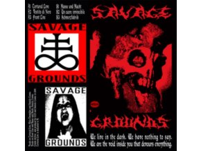 "SAVAGE GROUNDS - Body Weight Compressor EP (12"" Vinyl)"