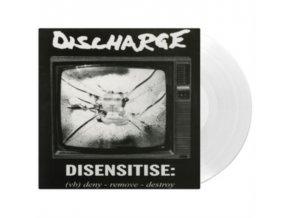 DISCHARGE - Disensitise (White Vinyl) (LP)