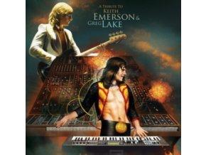 VARIOUS ARTISTS - A Tribute To Keith Emerson & Greg Lake (Orange Vinyl) (LP)