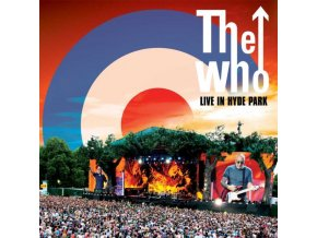 WHO - Live At Hyde Park (Red/Blue/White Vinyl) (LP)