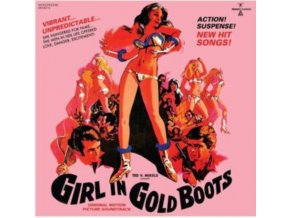 VARIOUS ARTISTS - Girl In Gold Boots - Original Soundtrack (Gold Vinyl) (LP + DVD)