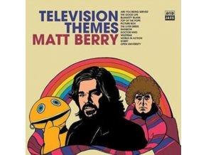 MATT BERRY - Television Themes - White Vinyl (LP)