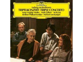 BERLINER PHILHARMONIKER YO-YO MA ANNE-SOPHIE - Beethoven: Triple Concerto (LP)
