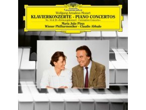 WIENER PHILHARMONIKER CLAUDIO ABBADO MARIA JOAO - Mozart: Piano Concertos Nos. 14 & 26 (LP)