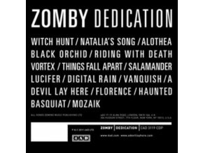 ZOMBY - Dedication (LP)