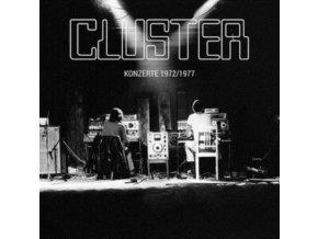 CLUSTER - Konzerte 1972 / 1977 (LP)