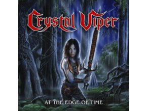"CRYSTAL VIPER - At The Edge Of Time (Clear Vinyl) (10"" Vinyl)"