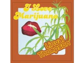 LINVAL THOMPSON - I Love Marijuana (Orange Vinyl) (LP)