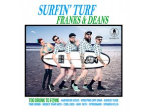 "FRANKS & DEANS - Surfin Turf (10"" Vinyl)"