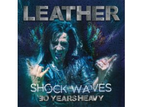 LEATHER - Shock Waves: 30 Years Heavy (LP)