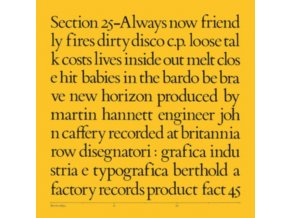 SECTION 25 - Always Now (LP)