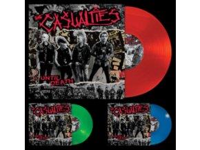 CASUALTIES - Until Death - Studio Sessions (Red Vinyl) (LP)