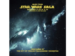 ORIGINAL SOUNDTRACK / THE CITY OF PRAGUE PHILHARMONIC ORCHESTRA - Music From Star Wars Saga (LP)