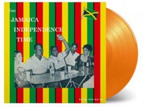 VARIOUS ARTISTS - Gay Jamaica Independence Time (Orange Vinyl) (LP)