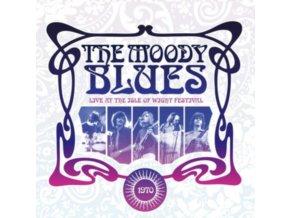 MOODY BLUES - Live At The Isle Of Wight 1970 (LP)