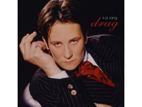 K.D. LANG - Drag (Clear/Black Vinyl) (3-Side With Etching) (RSD 2020) (LP)