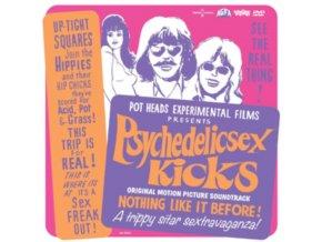 PSYCHEDELIC SEX KICKS - Psychedelic Sex Kicks - Original Soundtrack (Coloured Vinyl) (LP + DVD)