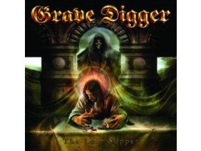 GRAVE DIGGER - The Last Supper (Limited Transparent Red Vinyl) (LP)
