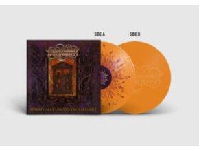 "LIERS IN WAIT - Spiritually Controlled Art (Etched Vinyl) (Clear/Orange/Yellow Splatter Vinyl) (12"" Vinyl)"