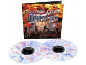 PRIMAL FEAR - Live In The Usa (White/Blue/Red Marbled Vinyl) (LP)