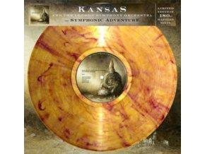 KANSAS AND THE LONDON SYMPHONY ORCHESTRA - The Symphonic Adventure (LP)