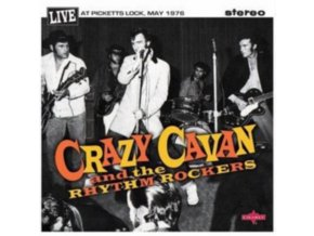 "CRAZY CAVAN - Live At Picketts Lock 1 & 2 (10"" Vinyl)"