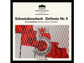BERLINER SINFONIE-ORCHESTER / KURT SANDERLING - Shostakovich: Symphony No.5 (LP)