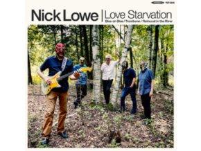 NICK LOWE - Love Starvation / Trombone (LP)