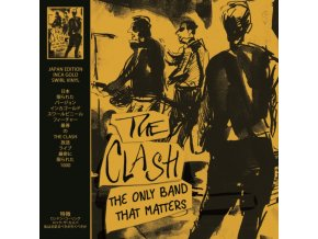 CLASH - The Only Band That Matters - Gold Vinyl (LP)