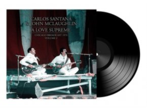 CARLOS SANTANA & JON MCLAUGHLIN - A Love Supreme - Vol. 2 (LP)