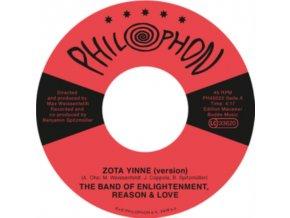 "BAND OF ENLIGHTENMENT REASON & LOVE - Zota Yinne (Version) / Starlet Road Filling Station Romance (Version) (7"" Vinyl)"