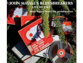 JOHN MAYALLS BLUESBREAKERS - Live In 1967 (LP)