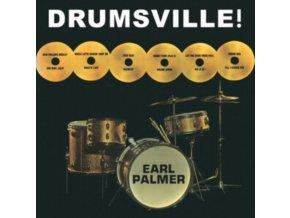 EARL PALMER - Drumsville! (LP)