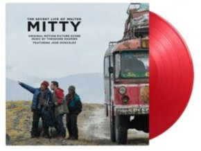 THEODORE SHAPIRO / JOSE GONZALEZ - The Secret Life Of Walter Mitty - Original Soundtrack (Red Vinyl) (LP)