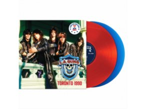 L.A. GUNS - Toronto 1990 (Red/Blue Vinyl) (LP)